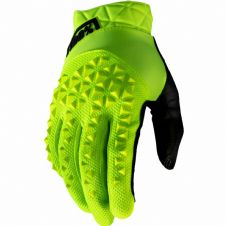 New 100% Geomatic Glove Flo Yellow S M L XL Motocross